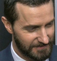 Yet another example of the majesticness of his manliness, and his beardness making him so full of goodlookingness.