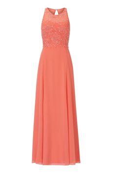 745c286da32b Langes Frühlingskleid Blüten Vera Mont   Mode Bösckens Mode Für Brautmutter,  Lange Abendkleider, Kleiderkollektion