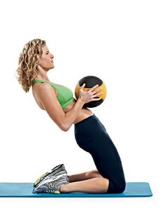 Every woman can end up with a belly pooch due to underworkedlower abdominal muscles.....or 2 kids in 2 years This workout will tap into the deep abdominal musclesthe transverse abdoministhat pull in your waistline like a corset. Do these moves one after another with no rest in between. Then repeat the circuit so youre performing it a total of two times.