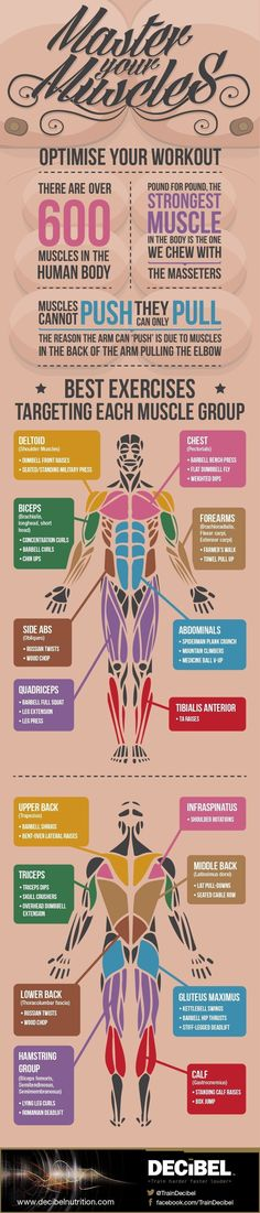 Fitness Articles Tips and Workouts: 16 Super-Helpful Charts That Teach You How To Actu...