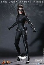 """CATWOMAN as seen in THE DARK KNIGHT RISES.  Anne Hathaway in her black """"Catsuit"""".  Stunning details on this high-quality 1/6th scale deluxe figure."""