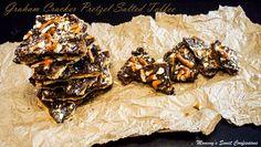 My Recipe Magic-Graham Cracker Pretzel Salted Toffee