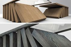 tilted coffee table design