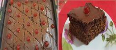 Νηστίσιμη Καρυδόπιτα με σοκολάτα -idiva.gr Greek Cake, Caramel, Muffin, Vegan, Cooking, Breakfast, Desserts, Food, Victoria