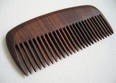 Custom handmade beard comb