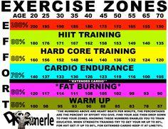 heart rate zones - DK