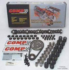 COMP Cams Camshaft Kit (CS Competition Cams a trusted industry leader. Backed by manufacturer's warranty. Designed for good performance. Ford Bronco Parts, Kit, High Energy, Chevy, Competition, Racing, Products, Running, Auto Racing