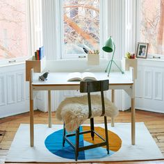 Anyone in the family can enjoy the urban flare of the Brooklyn Desk. http://www.yliving.com/oeuf-brooklyn-desk.html