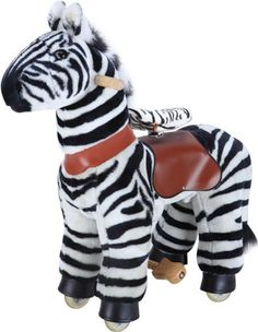 MYHORSESCOOTER Zebra Ride-On, Small | Your #1 Source for Toys and Games