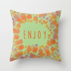 cushion#coussin#enjoy#optimism#happiness