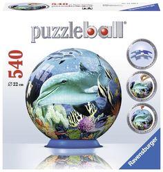 Underwater World Globe - 540 Piece 3D Jigsaw Puzzle