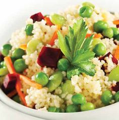 Grain-based salads are a nice change, aren't they? Orange Vegetable Couscous can be served chilled, but it's also delicious served at room temperature.