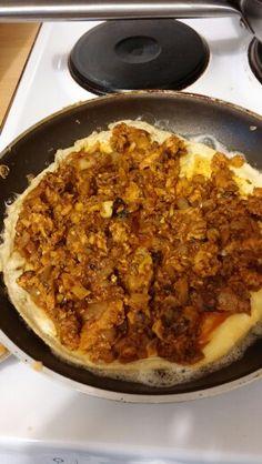 Macrel omelet