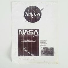 Sometimes designers must unite and stand up for good design, even if that means standing up to In NASA was planning to change their graphic identity created by Dunne & Blackburn after Massimo Vignelli, Stand Up, Nasa, Cool Designs, Designers, Graphic Design, How To Plan, Logo, Paper