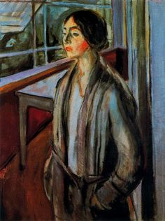 Edvard Munch, Woman on the Veranda