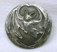 silver and bat image