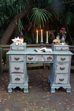 I love this piece! such a desk is a perfect complement to any study, library, or drawing room...