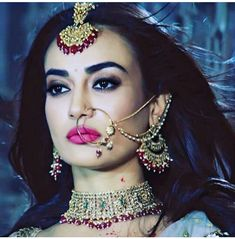 My fav actor Indian Jewelry Earrings, Gold Rings Jewelry, Wedding Jewelry, Jewellery, Indian Tv Actress, Beautiful Indian Actress, Bridal Nose Ring, Indian Nose Ring, Indian Wedding Bride