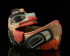 Bear Feast Bowl by William Kuhnley, Nuu-chah-nulth (Ditidaht) artist (W81008)