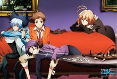 Servamp : Kuro, Mahiru, Misono & Lily