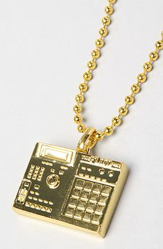 The BPM Necklace in Gold by Flud Watches