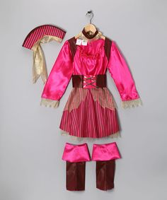 Take a look at this Pink Captain Cutie Dress-Up Outfit - Kids by Paper Magic on #zulily today!