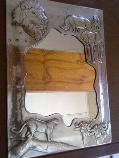 Art  Custom Works - pewter big five frame