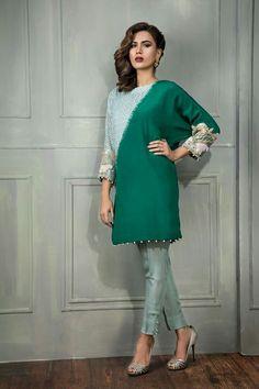 Pakistani Dress Design, Pakistani Dresses, Designer Wear, Designer Dresses, Embroidery On Clothes, Floral Embroidery, Kalamkari Dresses, Beautiful Dress Designs, Dress Neck Designs