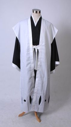 Bleach 10th Division Captain Toushiro Hitsugaya Cosplay Costume ** Check this awesome product by going to the link at the image.