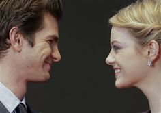 Seriously, they love each other… | Emma Stone And Andrew Garfield Being Adorable Together