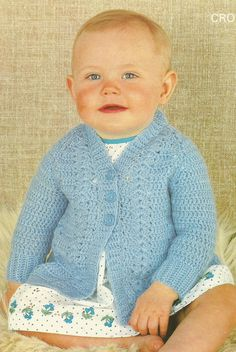 Instant Download PDF  Lovely Cardigan by CharliegirlCrafts4U