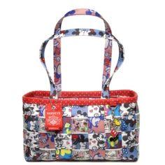 Harveys Seatbelt Disney Couture Patchwork Large Satchel by The Leather Handbags