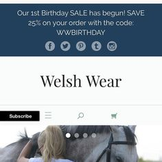 You only have today and tomorrow to receive 25% OFF your entire order at WelshWear.com ! Don't miss out on our 1st birthday SALE! #corgi #ETLTIL #PREPPY #corgination #welshwear #sale