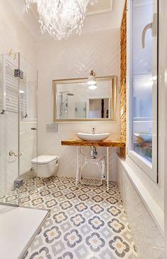Tienda Online www.yanyare.com  Showroom C/ Fuente del Berro 6 28009 Madrid  Diseño baño: Tilopa Van Pallandt #baldosahidraulica #baldosashidraulicas #cementtiles #encaustictiles #carreauxdeciment #deco #interiors #renovation #design #interiordesign #zementfliesen #shoponline #ihavethisthingwithtiles #ihavethisthingwiththisfloors #vintage #elegance #luxurytiles #nosinmisbaldosas #yanyare_design #diseño #decoracion #decoration #style #tiles #baldosas #tileaddiction Room Decor Bedroom, Diy Bathroom, House Styles, Bathroom Inspiration, Bathroom Decor, Girls Bathroom, Bathroom Design Decor, Bathroom Design, Bathroom
