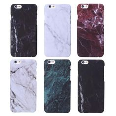 Phone Cases For iPhone 6 6s 6Plus 6s Plus Case Marble Stone image Painted Luxury Soft Silicone Cover Mobile Phone Bags & Case