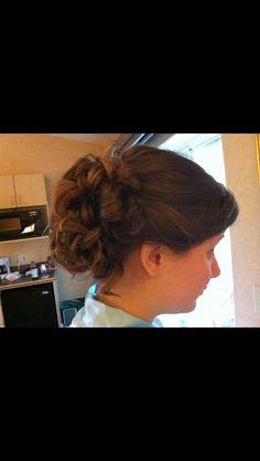 Updo -bridesmaid