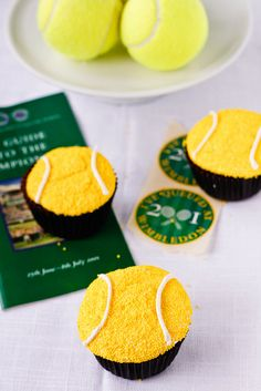 Game, Set, Match Cupcakes by TreatsSF, via Flickr