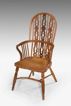 Mid 19th Century Yew tree Windsor Chair - Windsor House Antiques