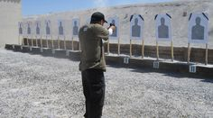 The purpose of this drill is the development of point shooting skills. Point shooting is best described as the shooter bringing their pistol up to eye leve Camping Survival, Survival Prepping, Survival Skills, Survival Gear, Home Defense, Self Defense, Personal Defense, Archery, Shooting Range