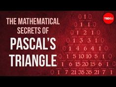 Pascal's Triangle, Maths In Nature, Binomial Theorem, Math Sites, Math Tools, Ted, Teaching Aids, Math Concepts, Educational Websites