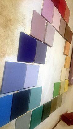 Carta de #Colores #ChalkPaint #AnnieSloan con los nuevos colores #Giverny #Honfleur y #AmsterdamGreen