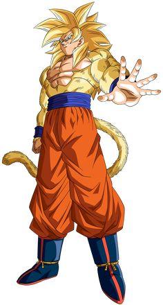 Goku Super Saiyajin 4 Render 1 by on DeviantArt Goku Ss4, Goku Y Vegeta, Son Goku, Dragon Ball Z, Dragon Bowl, Naruto Shippuden Sasuke, Deviantart, Akira, Mystic
