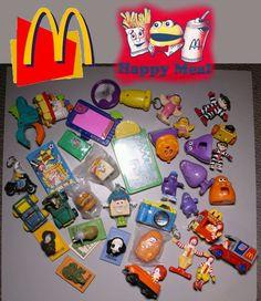 Retro Rare McDonald's Toy Collection #McDonalds