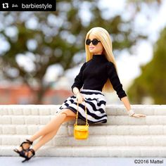 Ready to take on the new week!  #barbie #barbiestyle #sunglasses #OticasWanny #boasemana #segunda #estilo #Style #moda #modasolar #oculosdesol