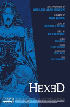 Preview: Hexed #11,   Hexed #11 Story: Michael Alan Nelson Art: Dan Mora Cover: Dan Mora Publisher: BOOM! Studios Publication Date: June 17th, 2015 Price: $3.99 ...,  #All-Comic #All-ComicPreviews #Boom!Studios #Comics #DanMora #Hexed #MichaelAlanNelson #Previews