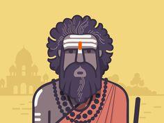 sadhu by ranganath krishnamani Bangalore, India