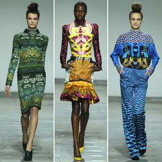 Mary Katrantzou Fall 2012 | POPSUGAR Fashion UK