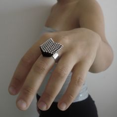 Zipper Jewelry, Easy Diy, Rings For Men, Jewelry Making, Beads, Creative, Hobby, Crafts, Alice