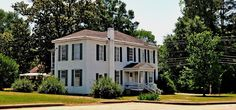 Noel Ramsey House at Greensboro, AL, Hale County (1819-1821) | Rural Southwest Alabama
