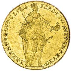 Ferdinand I./V. 1835 - 1848 Dukat 1843 B Gold